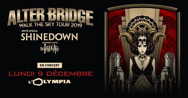 Alter Bridge · Walk The Sky Tour 2019