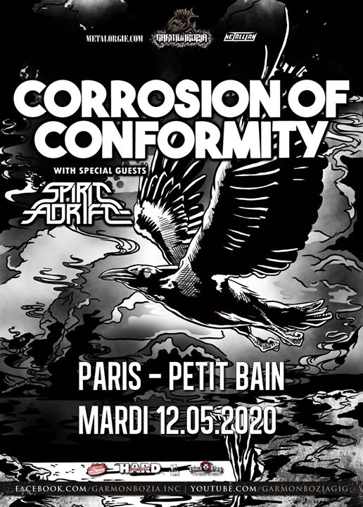 Corrosion Of Conformity, Spirit Adrift // Paris