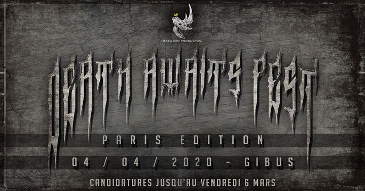 Death Awaits Fest 2020 - Paris Edition