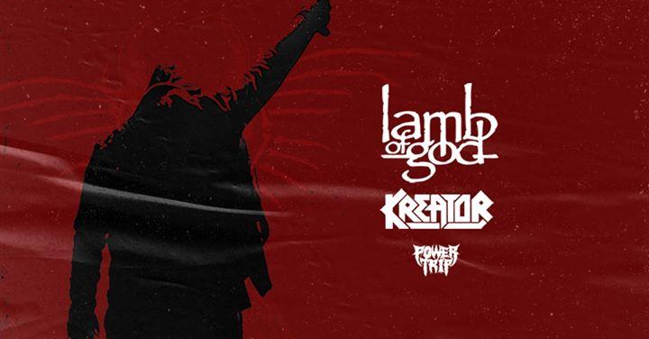 Lamb of God x Kreator • State of Unrest Tour • Paris