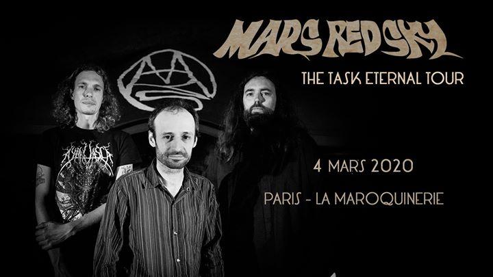 Mars Red Sky, Witchfinder, Baron Crâne à La Maroquinerie (Paris)