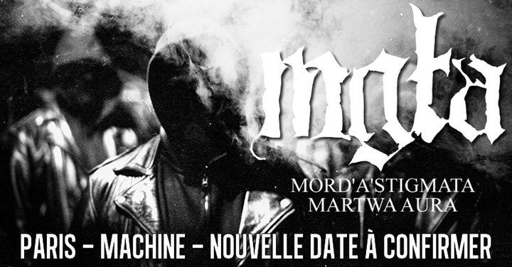 Mgła, Mord'A'Stigmata, Martwa Aura // Paris