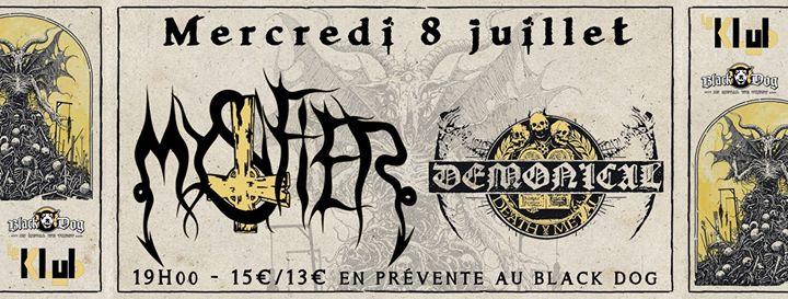 Mystifier & Demonical ■ Le Klub / Paris