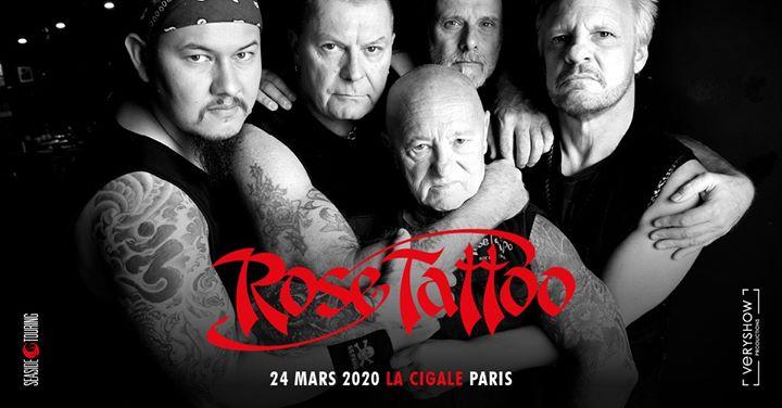 Rose Tattoo • Paris