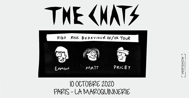 Annulé / The Chats • Paris