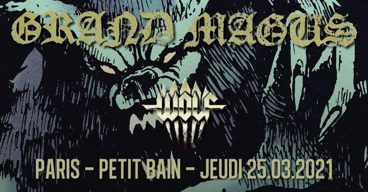 Grand Magus // Paris // nouvelle date !
