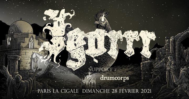 Igorrr + guests • Paris - La Cigale • 28 février 2021