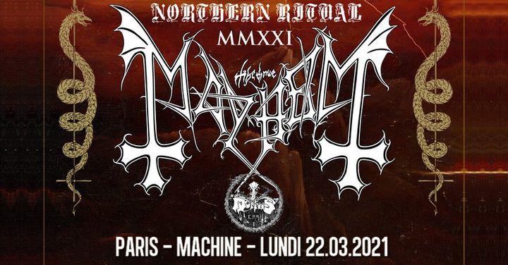 Mayhem, Mortiis // Paris // nouvelle date !
