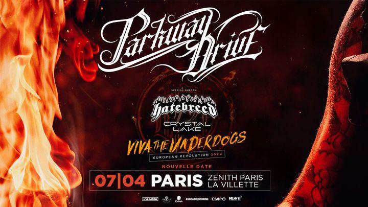 Reporté au 07.04.21 // Parkway Drive x Zénith Paris