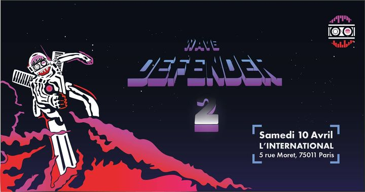 Synthwave Party WAVE Defender 2