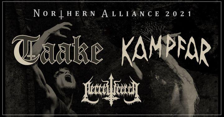 Taake, Kampfar & Necrowretch / Weiher / LIVE MUSIC HALL