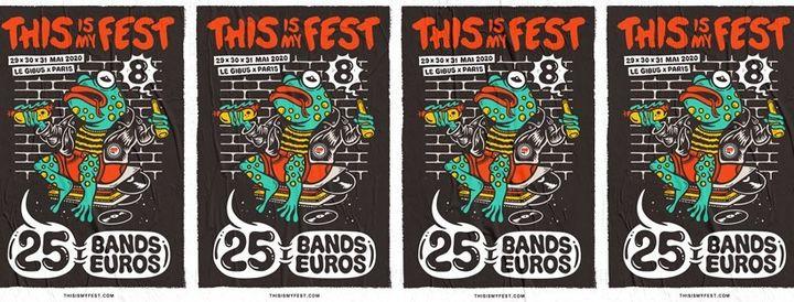 THIS IS MY FEST 8 — Festival DIY punk à Paris